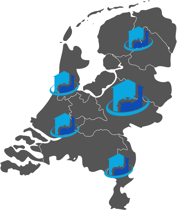 SprayCoat - Locaties Nederland